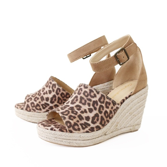32497a722a5 joy cheetah espadrille wedge sandal